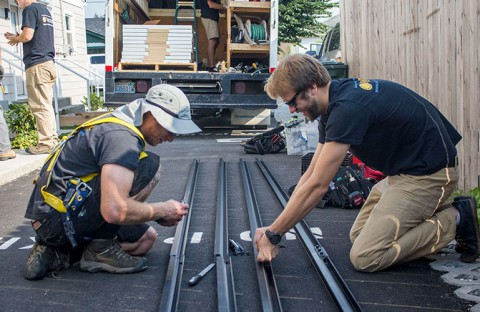 Western Solar install for Interfaith Coalition of Whatcom County, Bellingham