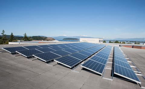 18.72 kW Solar PV System, Anacortes Middle School - Western Solar