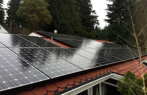 8.64 kW Solar PV System, Shoreline, WA - Western Solar