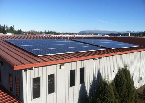 15.36 kW Solar PV System, Itek Energy, Bellingham, WA - Western Solar
