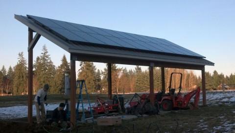 5.4 kW Solar PV System, Stanwood, WA - Western Solar