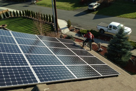 5.1 kW Solar PV System, Anacortes, WA - Western Solar