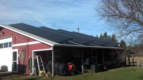 8.64 kW Solar PV System, Ferndale, WA - Western Solar
