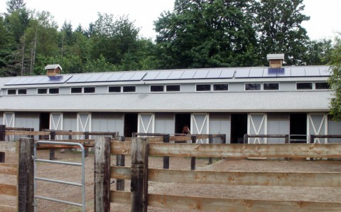 6.44 kW Solar PV System, Creekside Farms, Olympia, WA - Western Solar