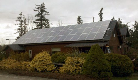 10.575 kW Solar PV System, Mountain Veterinary Hospital, Bellingham, WA - Western Solar