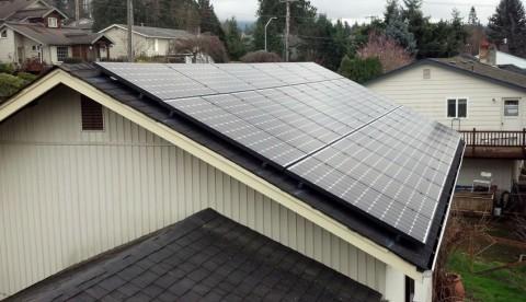 7.15 kW Solar PV System, Bellingham, WA - Western Solar