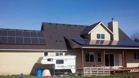 9.72 kW Solar PV System, Ferndale, WA - Western Solar