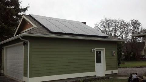 3.51 kW Solar PV System, Bellingham, WA - Western Solar