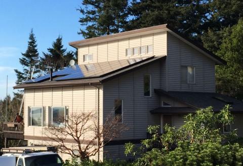 6.875 kW Solar PV System, Anacortes, WA - Western Solar