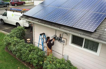 Bellingham solar electrician