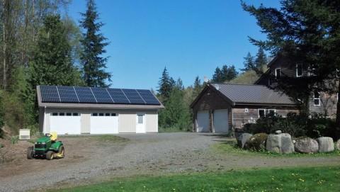 7.7 kW Solar PV System, Everson, WA - Western Solar
