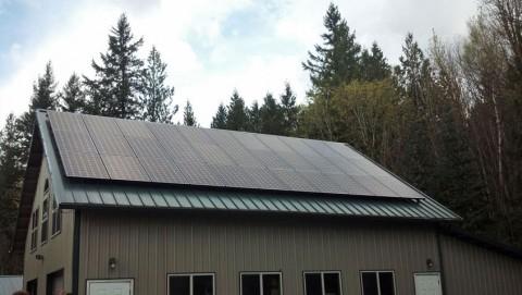 9.075 kW Solar PV System, Everson, WA - Western Solar