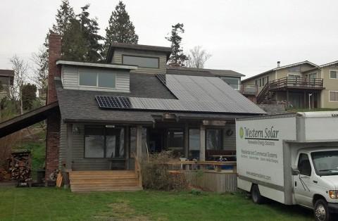5.5 kW Solar PV System, Birch Bay, WA - Western Solar