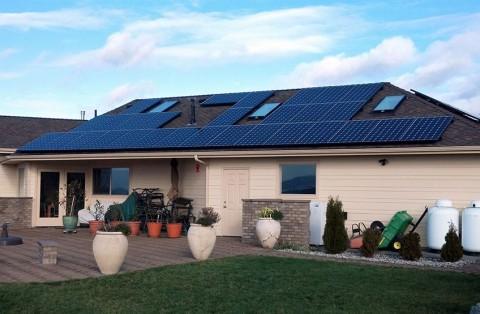 9.72 kW Solar PV System, Mount Vernon, WA - Western Solar