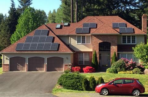 8.25 kW Solar PV System, Snohomish, WA - Western Solar