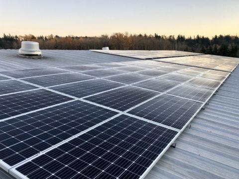 Commercial solar installation in Bellingham