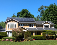 Washington solar home