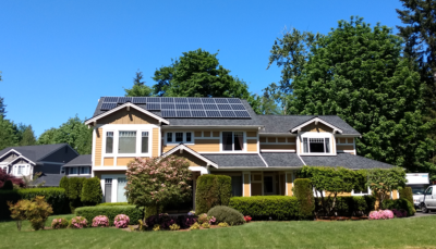 Washington solar home