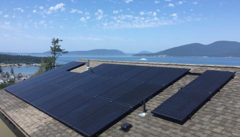 Anacortes solar installation